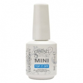 Gelish Mini Top it off 9 ml. Финиш-гель