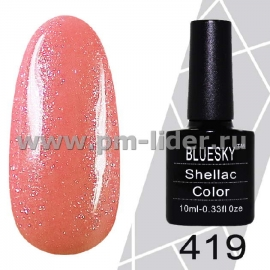 Гель-лак Shellac BlueSky (Серия М) №419
